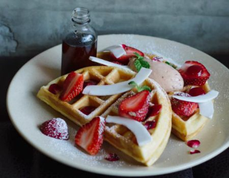Darling and Co waffles