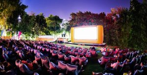 Feasts and Flicks during this year's OpenAir Cinema
